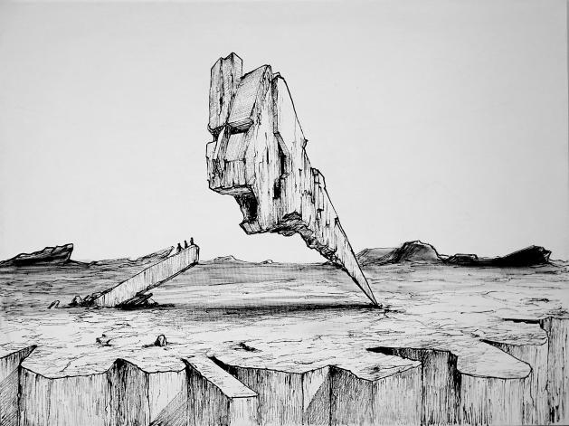 Andre Lima - Marco1 - acrilica sobre tela - 60x80